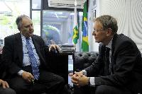 Visit of Janez Potočnik, Member of the EC, to Brazil