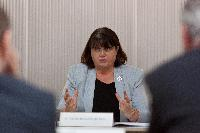 Visit of Máire Geoghegan-Quinn, Member of the EC, to Luxembourg