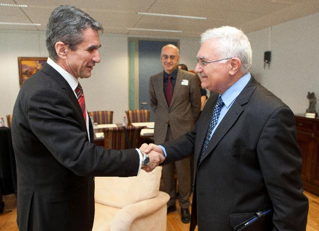 Visit of Andreas Loverdos, Greek Minister for Health and Social Solidarity, to the EC
