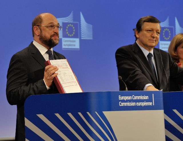 Visit of Martin Schulz, President of the EP, to the EC