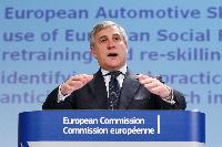 "Press conference by Antonio Tajani, Vice-President of the EC, on the adoption of ""CARS 2020: Action Plan for a competitive and sustainable automotive industry in Europe"""