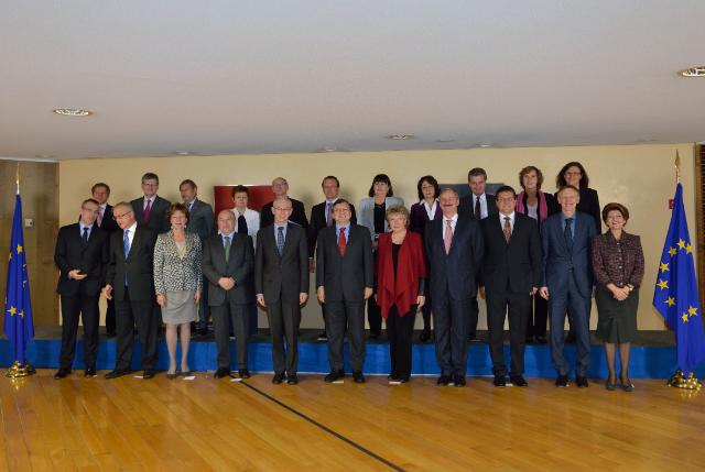 Visit of Herman van Rompuy, President of the European Council, to the EC