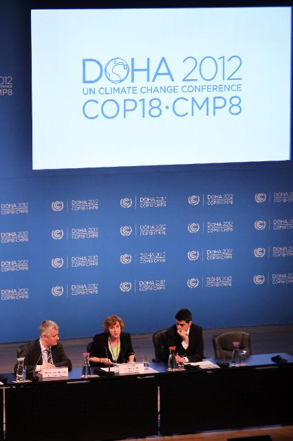 United Nations Climate Change Conference COP 18/CMP 8, in Doha