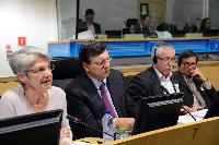 Participation of José Manuel Barroso, President of the EC, in a meeting of the Executive Committee of the Europe Trade Union Confederation