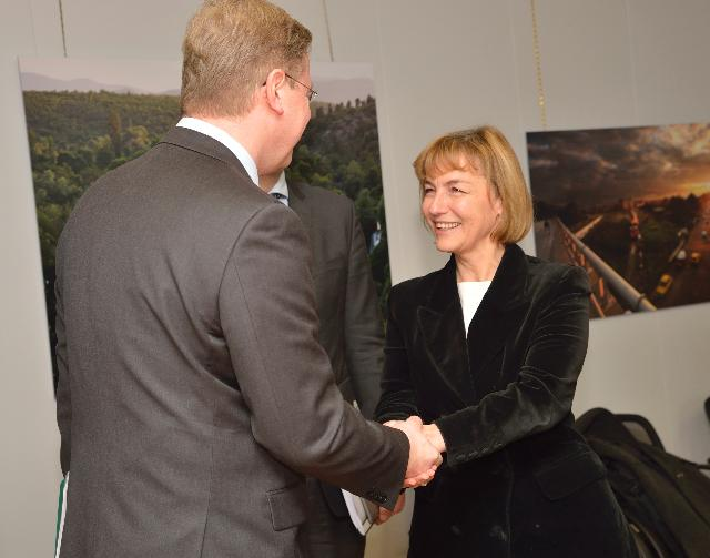 Visit of Vesna Pusić, Croatian Minister for Foreign and European Affairs, to the EC