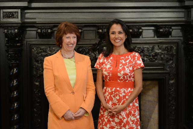 Visit of Catherine Ashton, Vice-President of the EC, to Peru