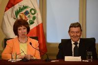 Visit of Catherine Ashton, Vice-President of the EC, to Peru
