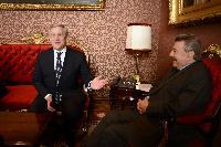 Visite d'Antonio Tajani, vice-président de la CE, au Pérou