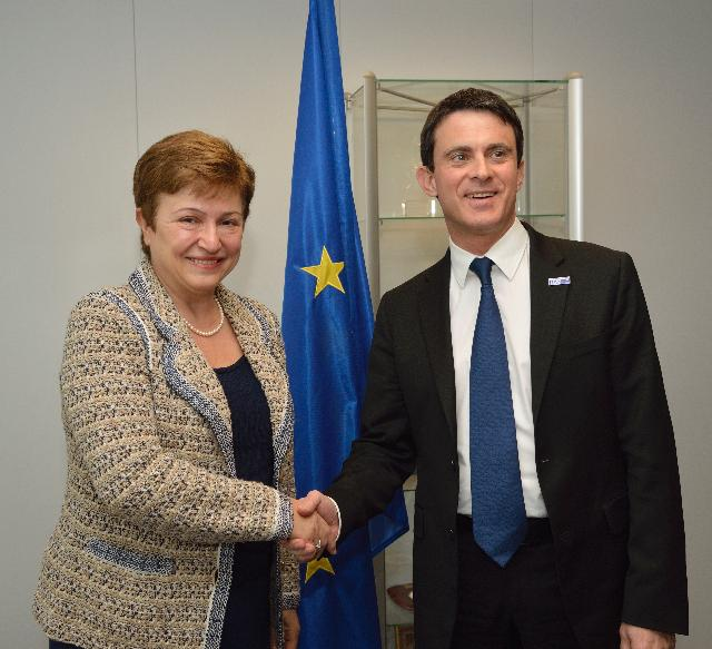 Visit of Manuel Valls, French Minister for the Interior, to the EC
