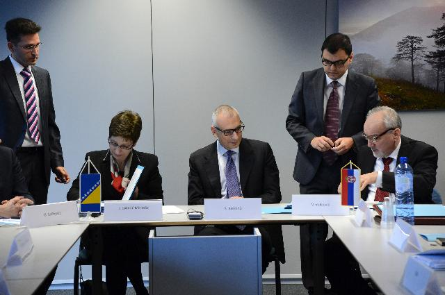 Signature of the Protocol on sharing information and evidences in war crimes cases between the Prosecutor's Office of Bosnia and Herzegovina and the War Crimes Prosecutor's Office of Serbia