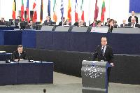 Participation of José Manuel Barroso, President of the EC, Maroš Šefčovič, Vice-President of the EC, and Michel Barnier, Member of the EC, in the EP plenary session