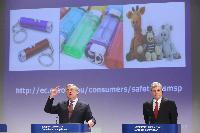 Joint press conference by Antonio Tajani, Vice-President of the EC, and and Tonio Borg, Member of the EC, on the Product Safety and Market Surveillance Package