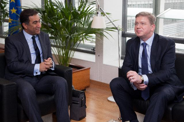 Visit of Fathallah Sijilmassi, Secretary General of the Secretariat of the Union for the Mediterranean, to the EC