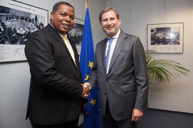 Visit of Daniel Zaïdani, President of the General Council of Mayotte, to the EC