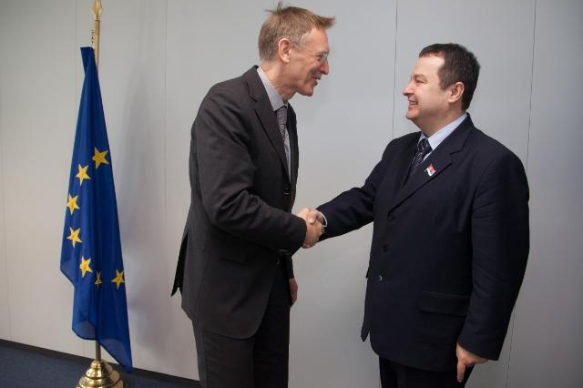 Visit of Ivica Dačić, Serbian Prime Minister and Minister for the Interior, to the EC