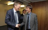 Visit of Nicolas Hulot, Founder and Chairman of the Nicolas Hulot Foundation for Nature and Man, to the EC