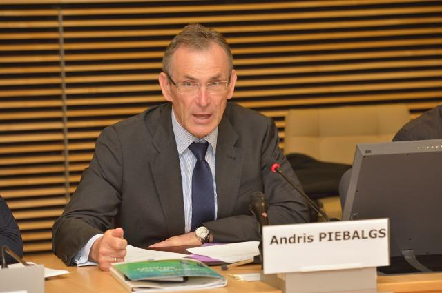 Participation of Andris Piebalgs, Member of the EC, at the launch of the European Report on Post-2015 Development priorities