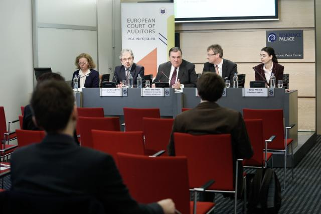 Press conference by Henri Grethen, Member of the European Court of Auditors, on the ECA special report entitled Have EU Structural Measures successfully supported the regeneration of industrial and military brownfield sites?