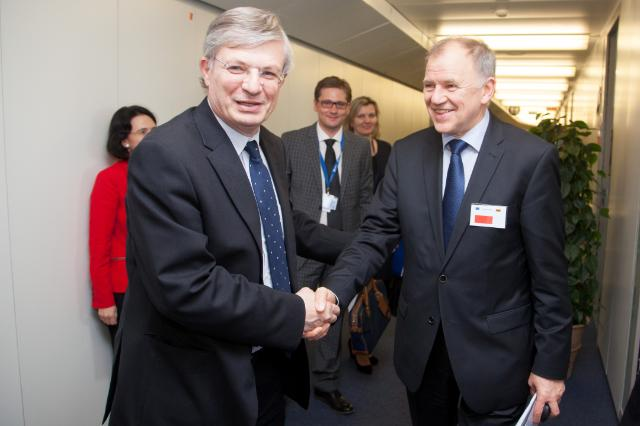 Visit of Vytenis Andriukaitis, Lithuanian Minister for Health, to the EC