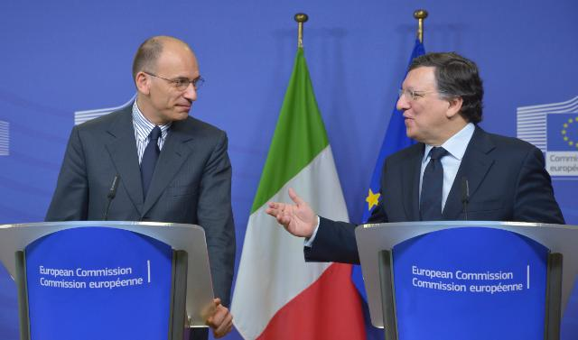 Visit of Enrico Letta, Italian Prime Minister, to the EC