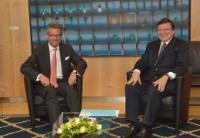 Visit of Ulrich Grillo, President of the Federation of German Industries, to the EC