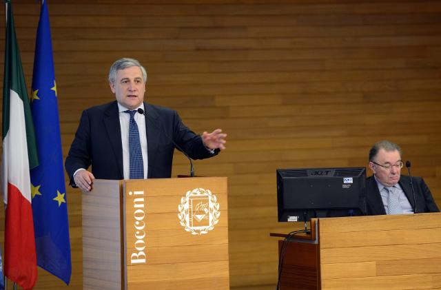 Participation of Antonio Tajani, Vice-President of the EC, at the conference 'Sei un giovane imprenditore? L'Europa scommette su di te!', organised in Milan
