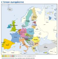 European Union map 2013