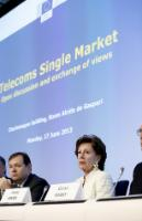 Participation of Neelie Kroes, Vice-President of the EC, at the public hearing 'A Single Telecom Market for Growth and Jobs in Europe'