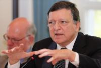 Visite de José Manuel Barroso, président de la CE, en Allemagne
