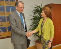 Visit of Denis Masseglia, President of CNOSF, to the EC