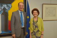 Visit of Denis Masseglia, President of CNOSF, to the EC