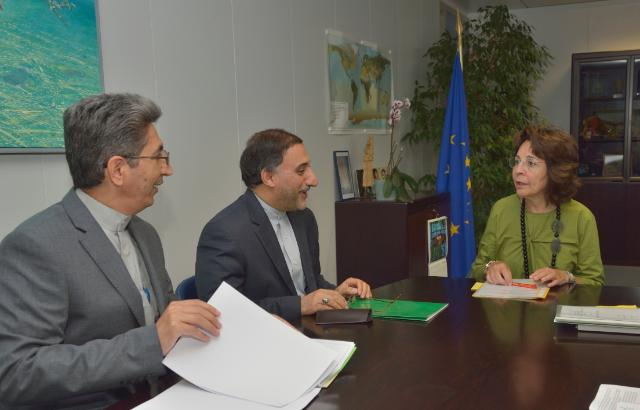 Visit of Mahmoud Barimani, Head of the Mission of Iran to the EU, to the EC