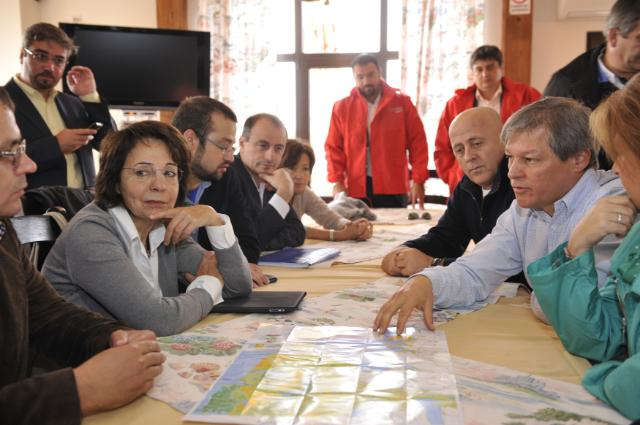 Visit of Maria Damanaki and Dacian Cioloş, Members of the EC, to Romania