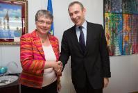 Visit of Anne Paugam, Chief Executive Officer of AFD, to the EC