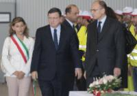 Visit of José Manuel Barroso, President of the EC, and Cecilia Malmström, Member of the EC, to Lampedusa