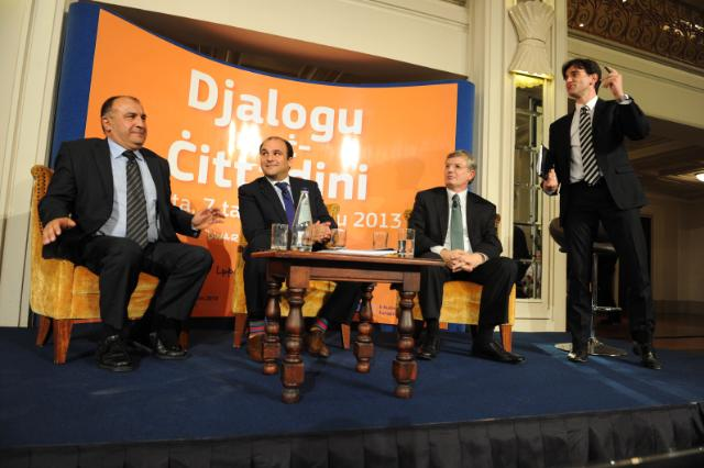 Citizen's Dialogue in Valletta with Tonio Borg