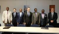 Visit of Kadré Désiré Ouedraogo, President of the Ecowas Commission, and Cheikh Hadjibou Soumaré, President of the UEMOA Commission, to the EC