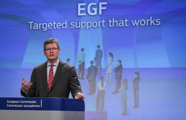 Press conference by László Andor, Member of the EC, on the Annual Report on the European Globalisation Adjustment Fund