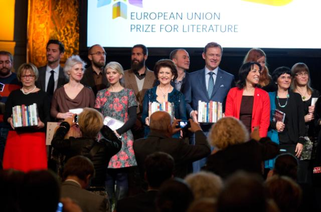 Award ceremony of the EU Prize for Literature 2013