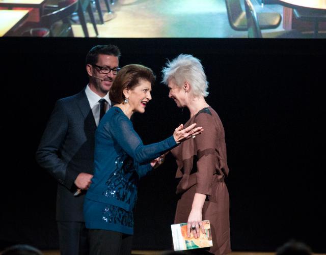 Award ceremony of the EU Prize for Literature 2013