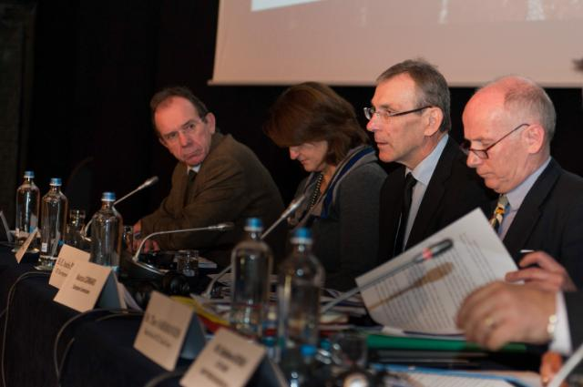 Participation of Andris Piebalgs, Member of the EC, at the 12th annual OCT/EU Forum, in Brussels