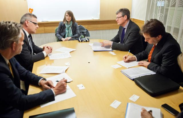 Visit of László Andor, Member of the EC, to Sweden