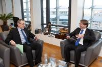 Visit of Rolandas Kriščiūnas, Lithuanian Vice-Minister for Foreign Affairs, to the EC