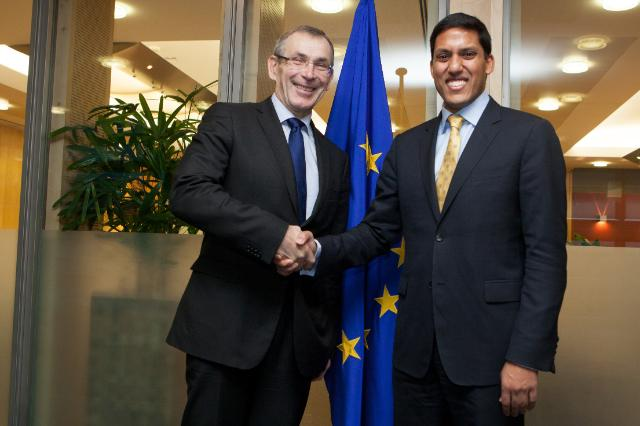 Visit of Rajiv Shah, Administrator of the United States Agency for International Development, to the EC