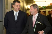 Visite de János Lázár, ministre d'Etat attaché au bureau du Premier ministre hongrois, à la CE