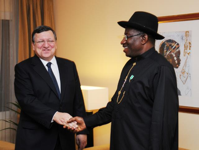 Visit of José Manuel Barroso, President of the EC, to Nigeria