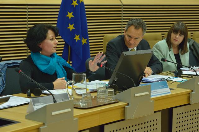Launch of the 'Euraxess, Researchers in Motion' roadshow in Brussels, with the participation of Máire Geoghegan-Quinn, Member of the EC