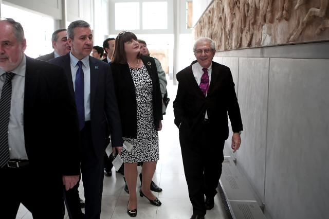 Visit of Máire Geoghegan-Quinn, Member of the EC, to Greece