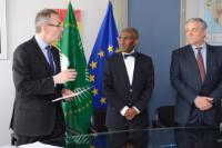 Signature of the European Programme for the establishment of an European capacity for Earth observation, called Copernicus, by the EC and the AUC