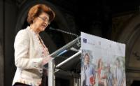 Visit of Androulla Vassiliou, Member of the EC, to Florence for the launch of the Erasmus+ programme